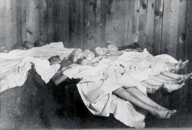 Bodies of Victims Calumet